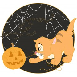 STOCK - PINS OLIVER HALLOWEEN