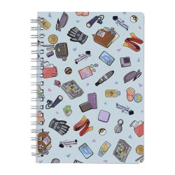 STOCK - CAHIER A SPIRALE -...